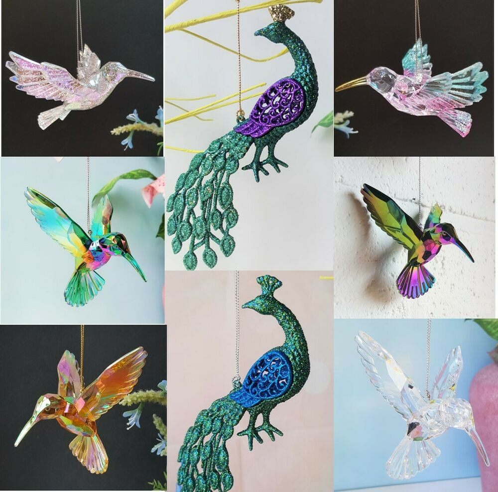 Online Buy Wholesale Christmas Ceiling Hanging Decorations: Acrylic Hummingbird Christmas Tree Decorations Hanging