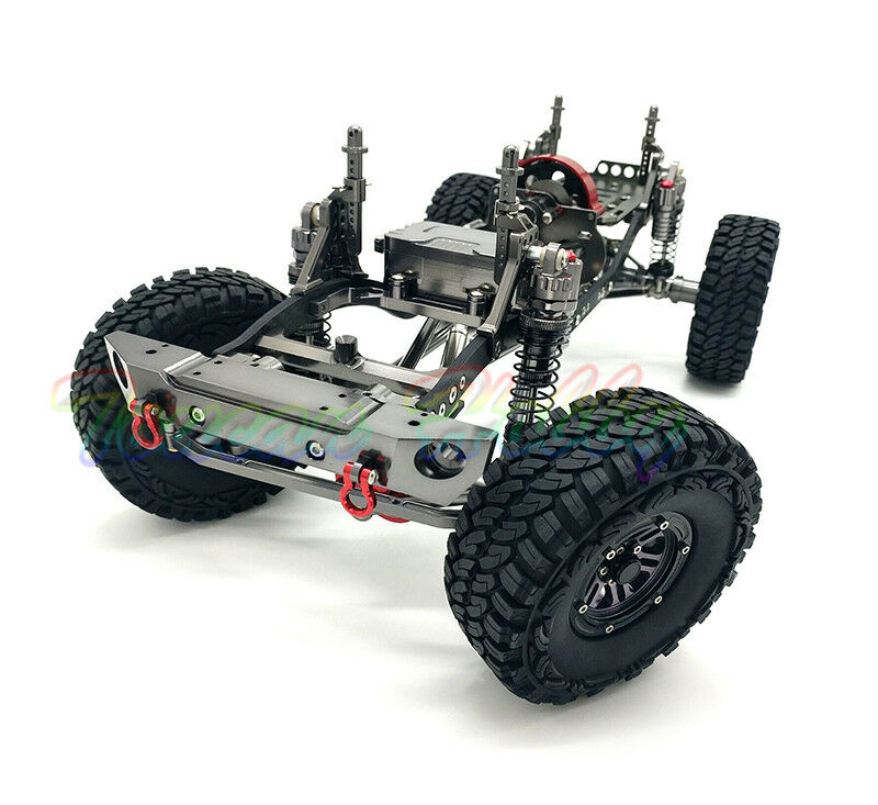 New 455MM 1/10 AXIAL RC Cars D90 CNC Rock Crawler Chassis