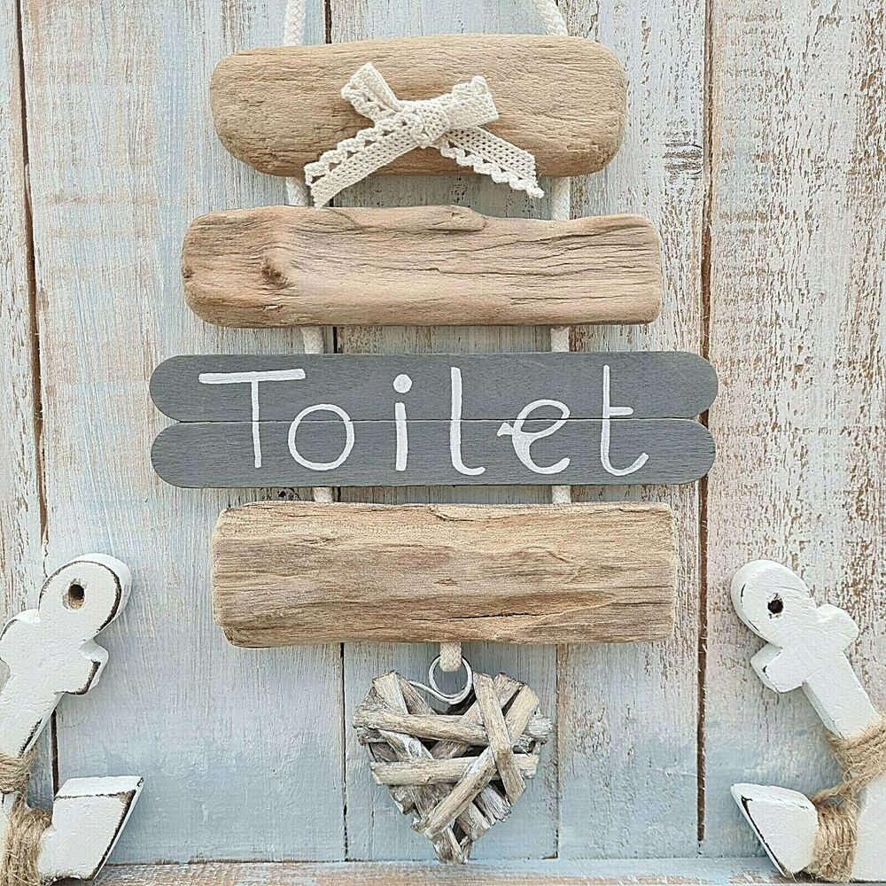 Shabby Driftwood Chic Wooden Bathroom Wc Toilet The Loo