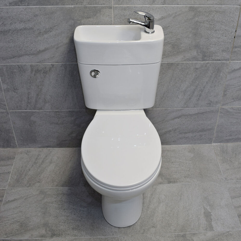 toilet sink combo duo all in one toilet basin sink space saving combination 11159