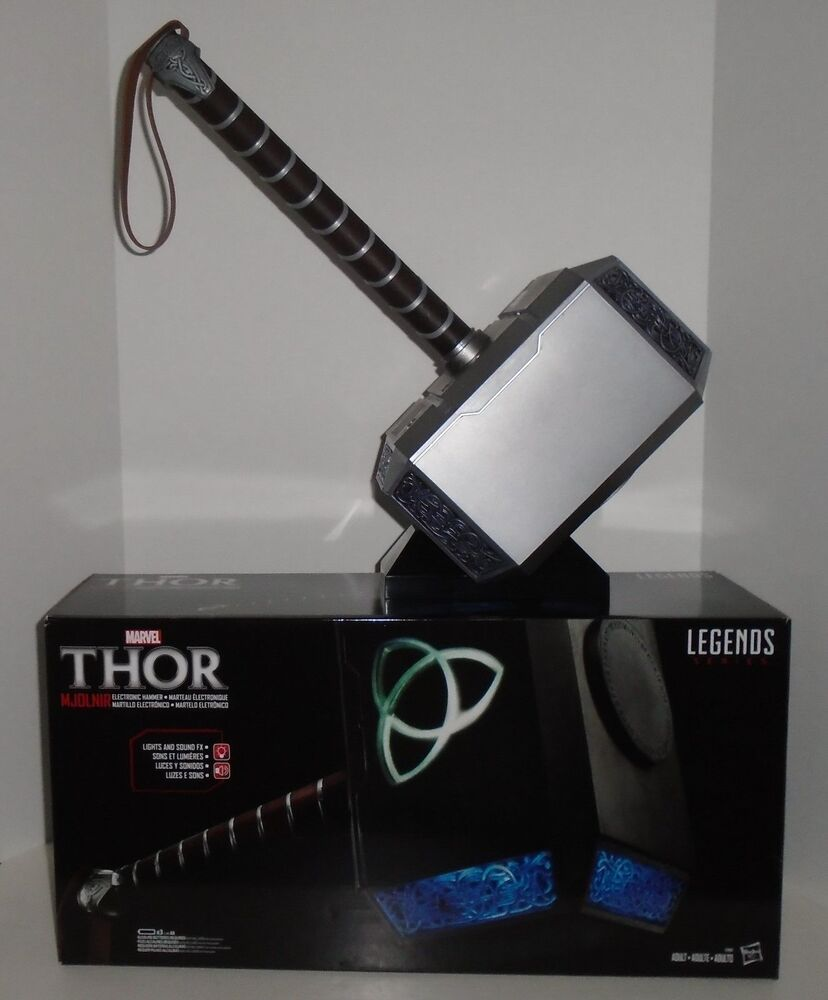 "THOR ""MJOLNIR ELECTRONIC HAMMER"" Full Size Prop Replica ..."