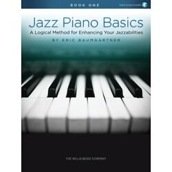 Jazz Piano Basics Book 1 A Logical Method for Enhancing Your Ability 000234476