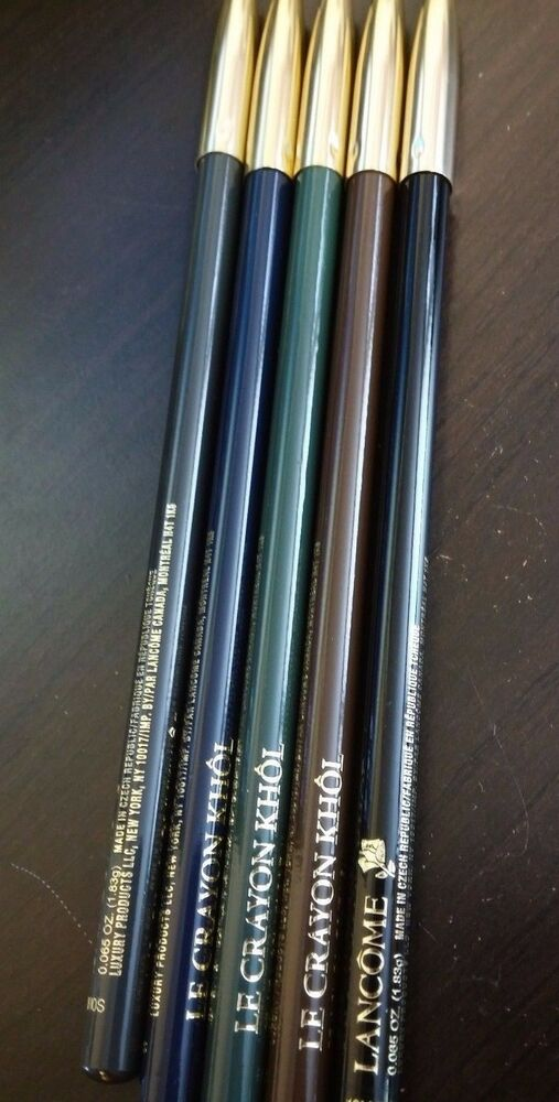lancome le crayon khol eyeliner pencil new in box ebay. Black Bedroom Furniture Sets. Home Design Ideas