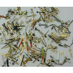 100 Mixed hour minute watch hands watchmakers repairs spares parts art steampunk