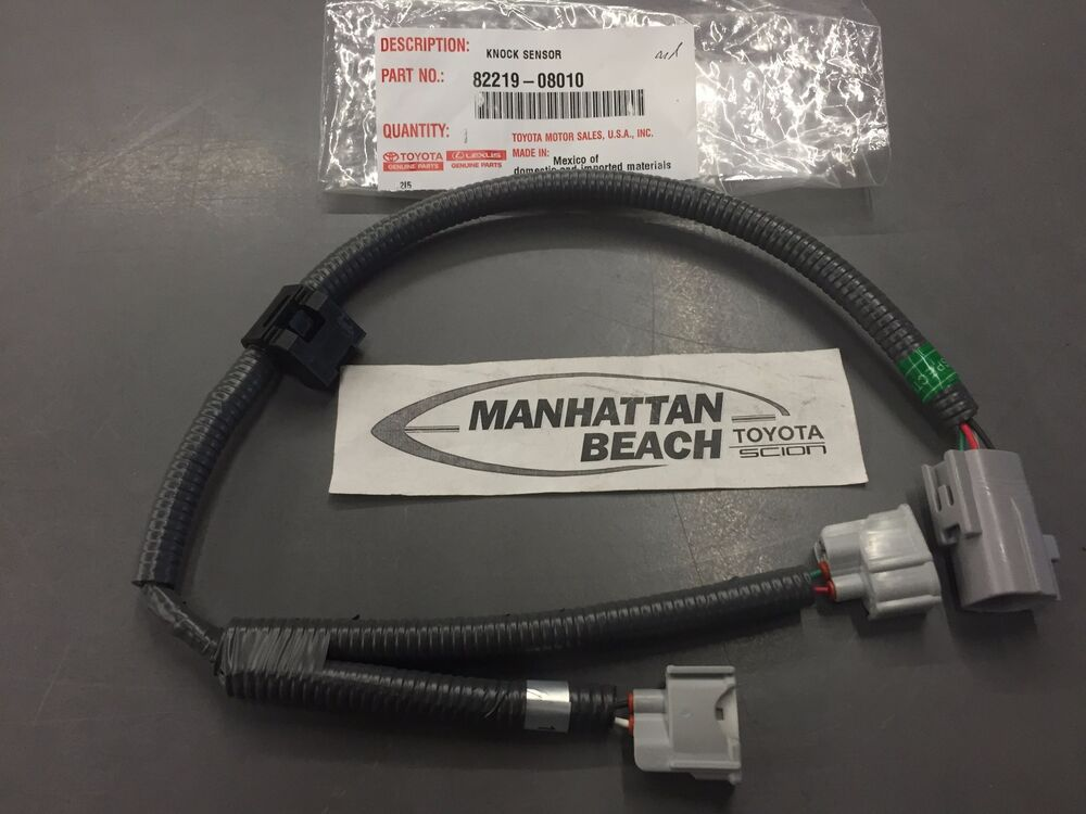 s l1000 genuine toyota knock sensor wire harness 3 3l v6 sienna solara  at edmiracle.co
