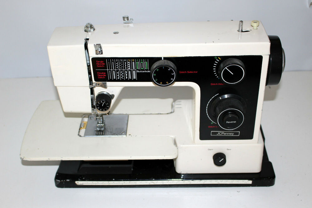 Sewing Machine Vintage JCPenney 40 Free Arm Nelco Head Only EBay Stunning Jcpenney Sewing Machine