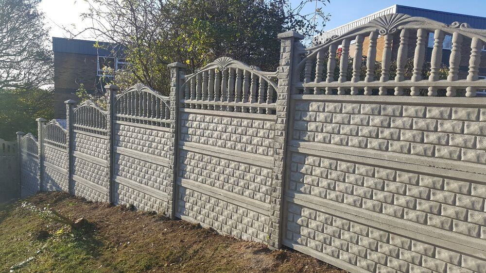 Fence Fencing Panels Gravel Boards Heavy Duty Concrete
