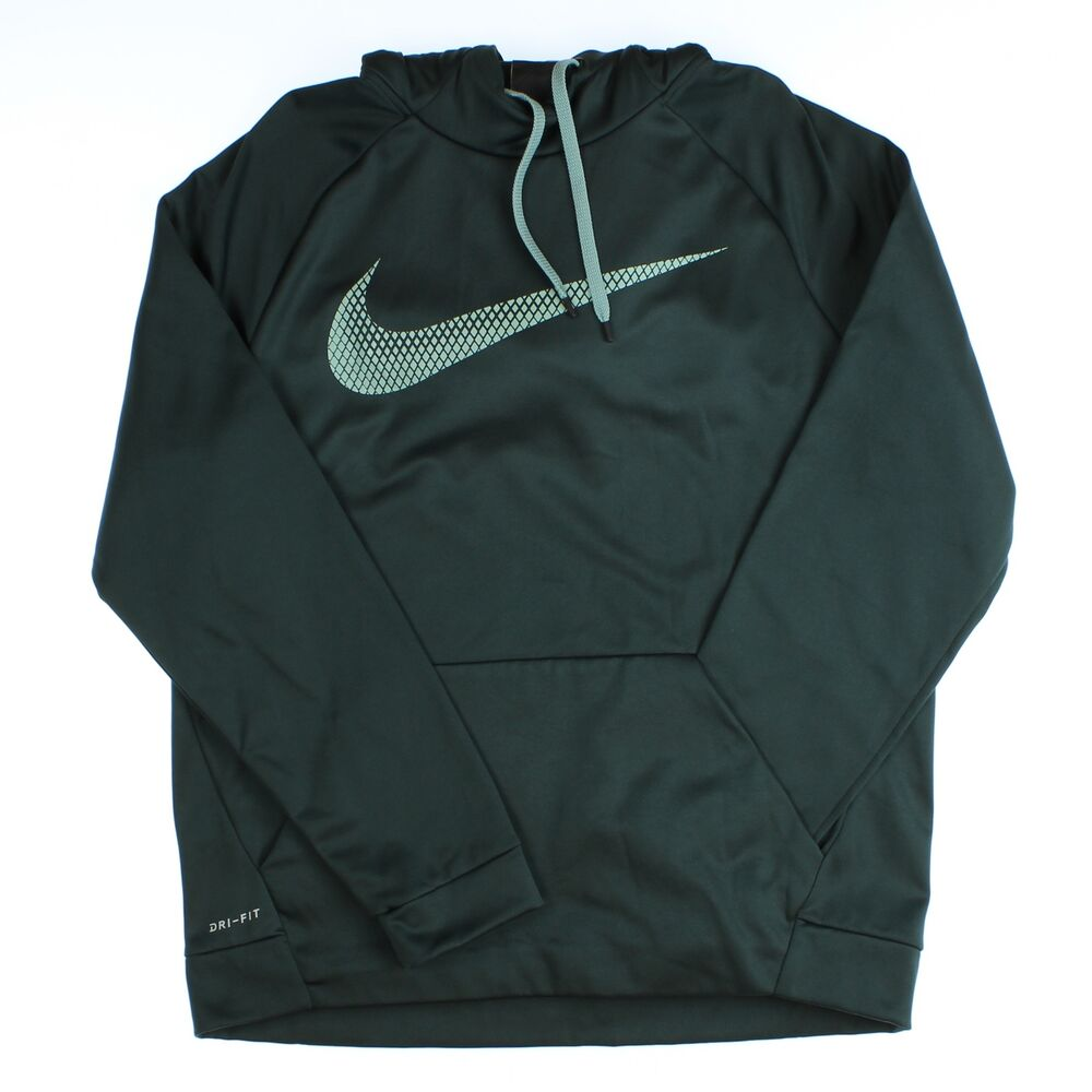 6a6722f6 Details about Nike Men's Therma Sphere Training Hoodie Athletic Deep  Green/Jade Size Large
