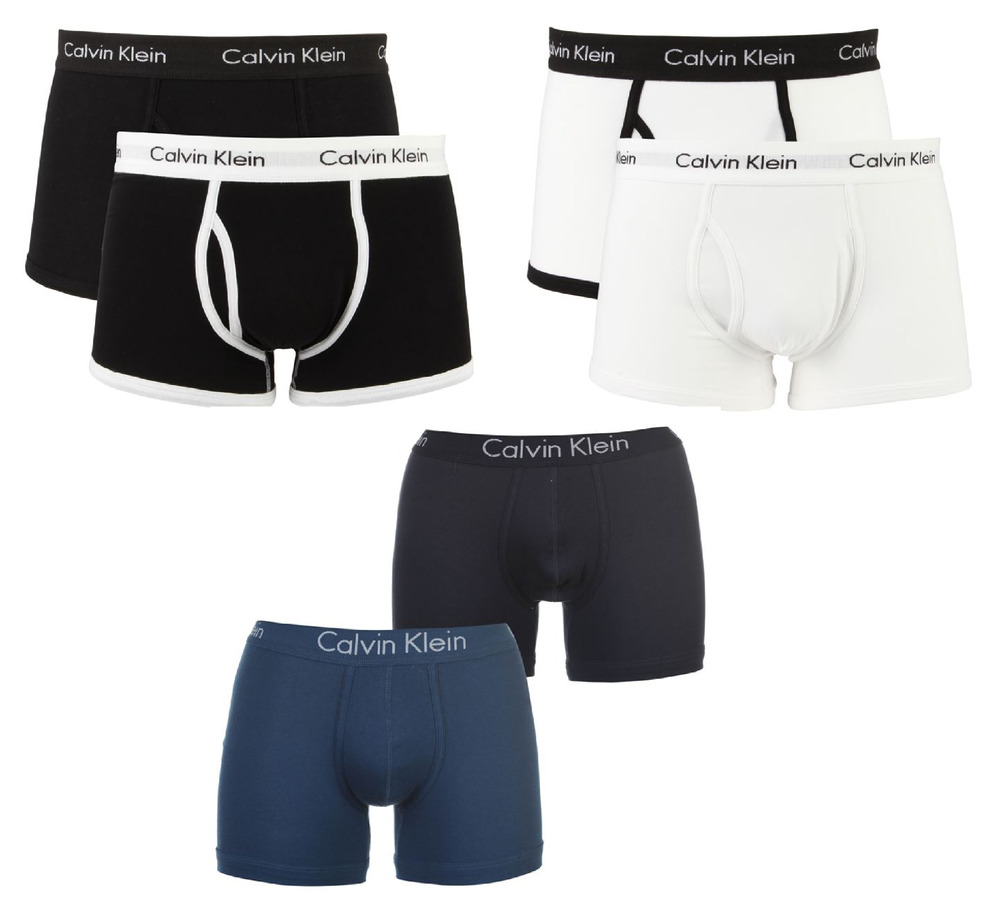 2x 4x calvin klein boxershorts herren unterhose unterw sche boxer neu ebay. Black Bedroom Furniture Sets. Home Design Ideas