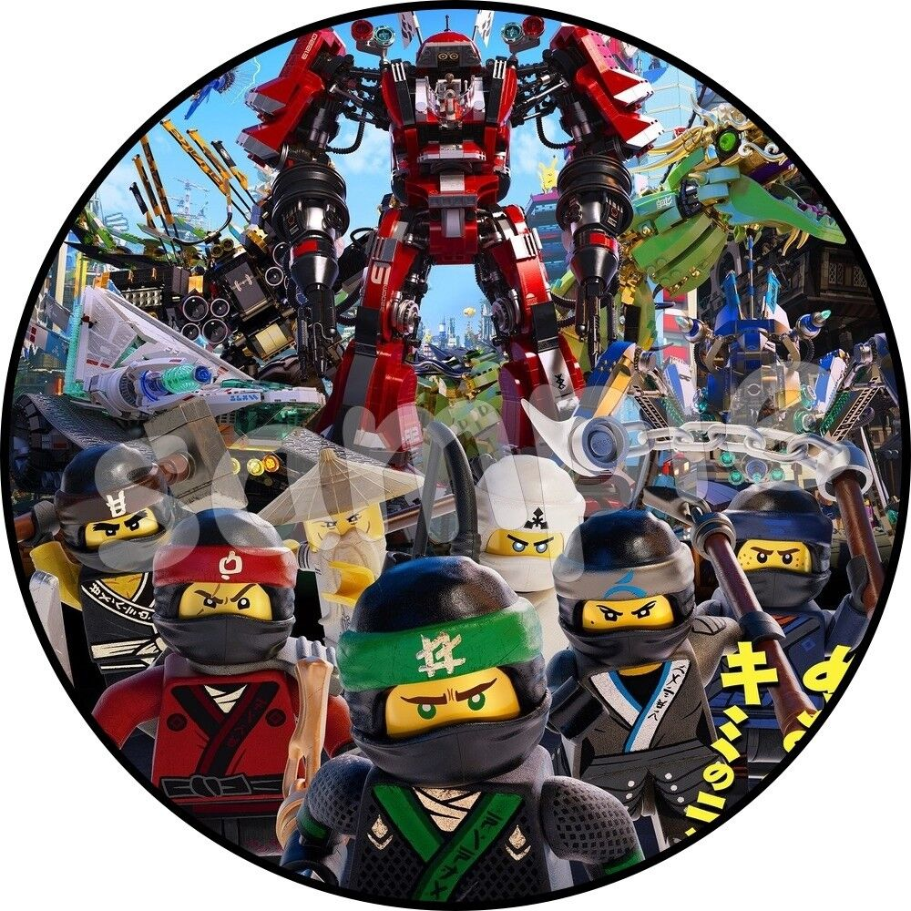 The lego ninjago movie e bar tortenaufleger geburtstag for Lego ninjago zimmer deko
