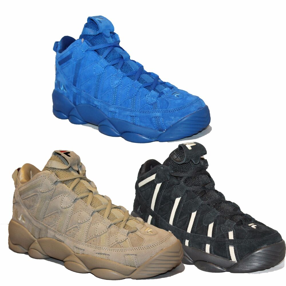 a43f4a2c4c64 Details about Mens FILA SPAGHETTI Jerry Stackhouse Retro Basketball Shoes  Sneakers 3 Colors