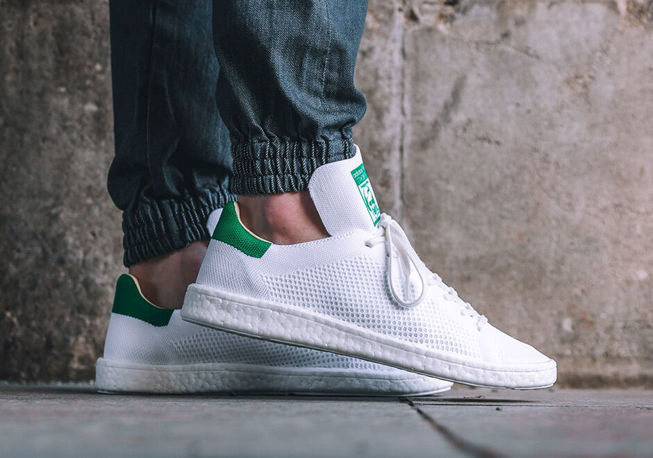 744c8f6096f27c Details about Adidas Stan Smith PK Boost size 13. White Green Primeknit.  BB0013. nmd ultra