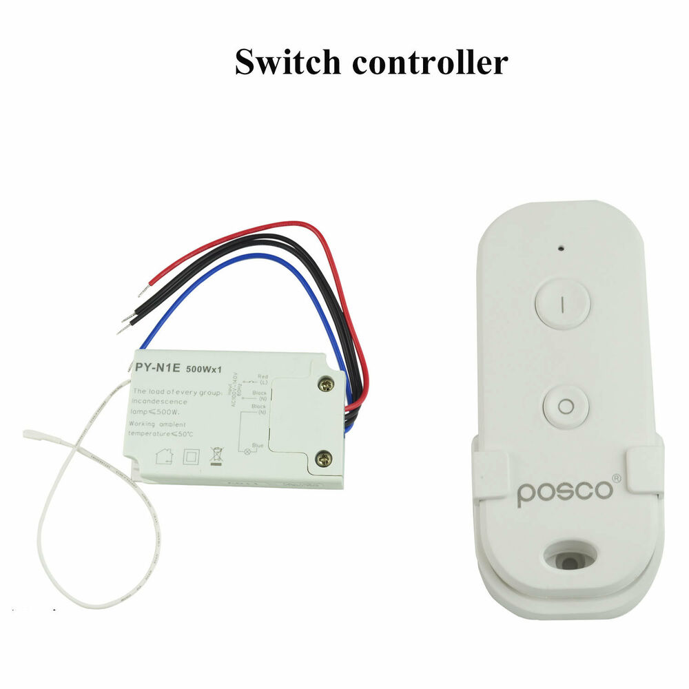 Wireless Remote Switch Control For Fluorescent Lamp