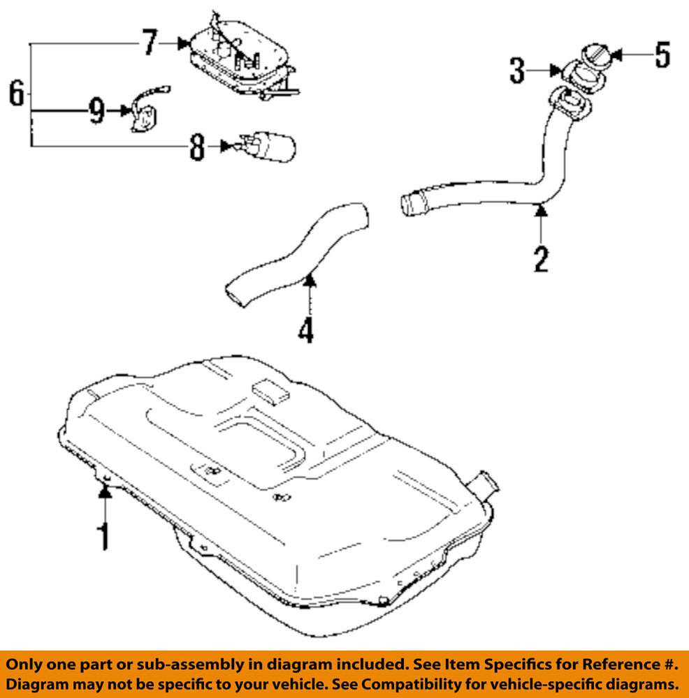 Geo Gm Oem 89 94 Metro 10l L3 Fuel Pump 96068883 Ebay 1992 Xfi 10 Engine Diagram