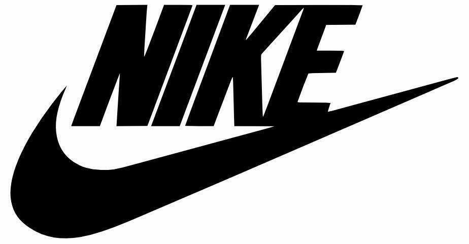 Air nike swoosh logo sticker cut out vinyl decal for car vehicle window door ebay