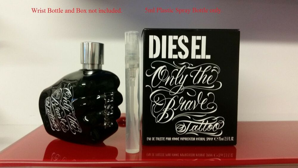 Its A Vial Diesel Only The Brave Tattoo Eau De Toilette 5ml Spray