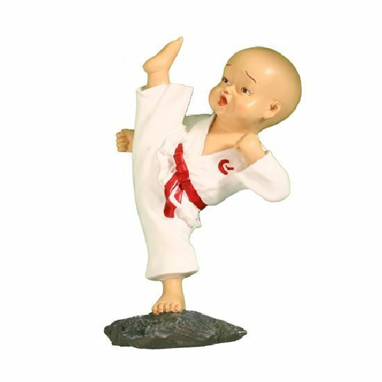 Details about Karate High Kick Figure H919 Martial Arts Gifts Doll Figurine Display Christmas
