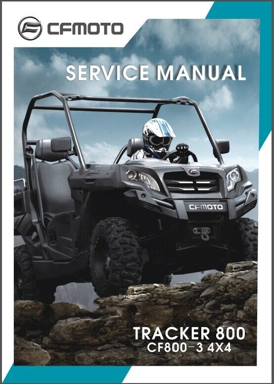 cfmoto cf800 3 tracker 800 4x4 u8 utv service manual on a cd ebay rh ebay com 1992 Geo Tracker Manual 2001 Chevy Tracker Manual