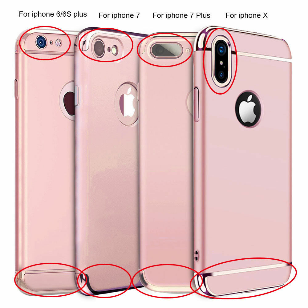For Iphone X 6s 7 8 Iphone 8 Plus Ultra Thin Hybrid Slim Hard Case