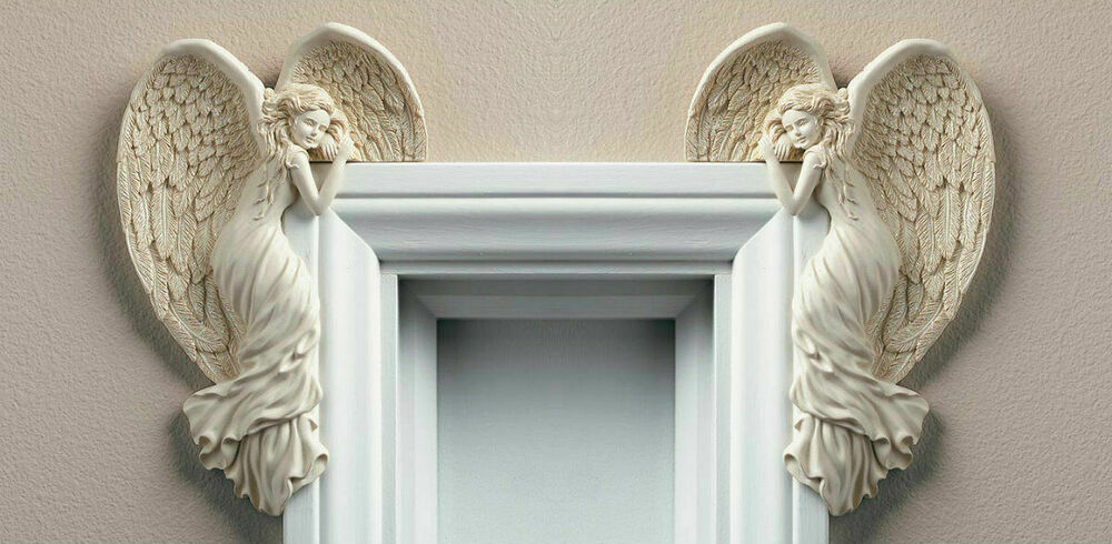 Vintage Angel Wings Door Frame Christmas Decoration Shabby Chic ...