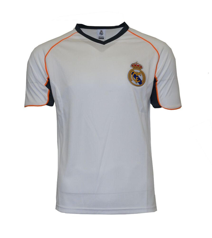 abb51c3ef Details about Real Madrid Soccer Jersey Training add Any Name and Number  Ronaldo 7