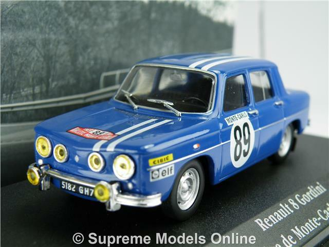 renault 8 gordini model car 1 43 1969 ixo atlas la saga rally monte carlo k8 ebay. Black Bedroom Furniture Sets. Home Design Ideas