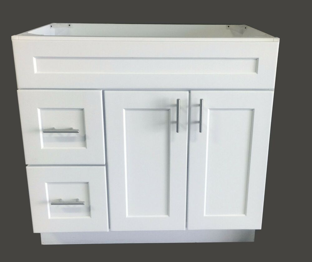bathroom vanity cabinets white new white shaker single sink bathroom vanity base cabinet 11803