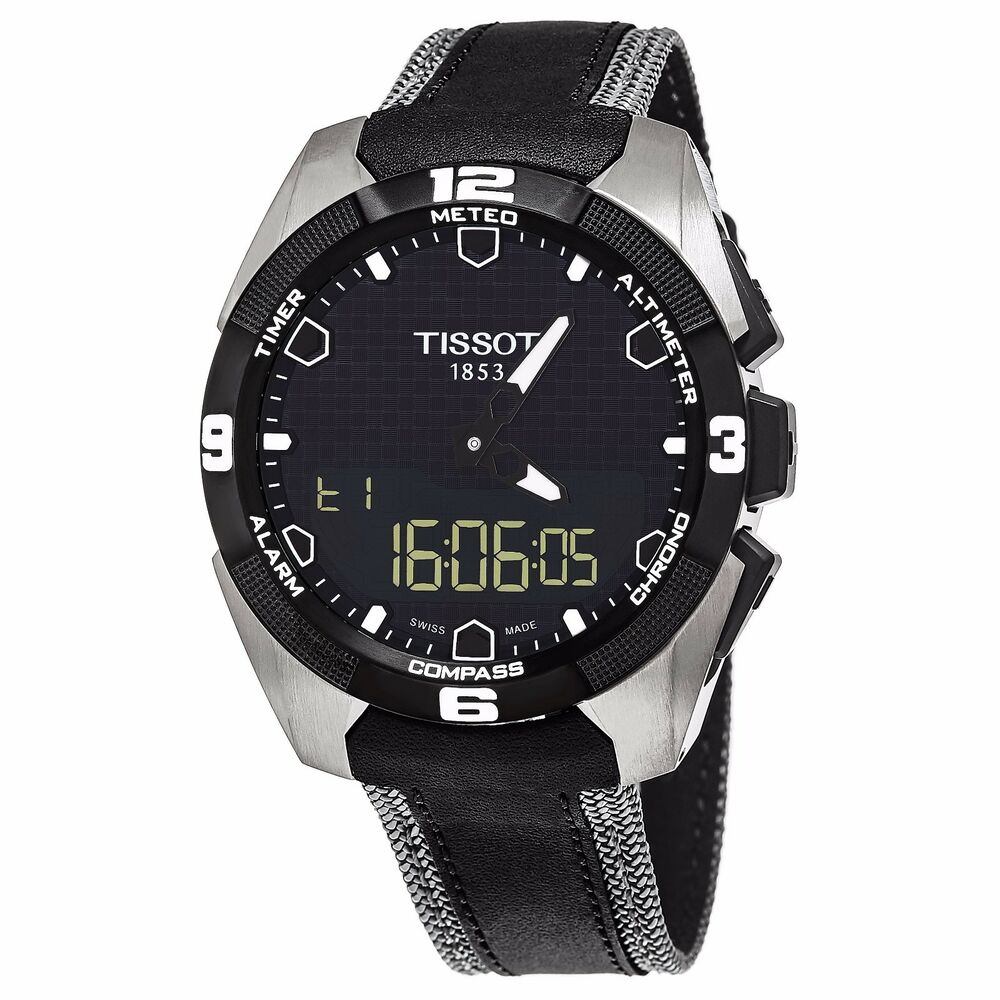 45dff4eba1e Details about Tissot Men s T Touch Expert Solar Multifunction Quartz Watch  T0914204605101