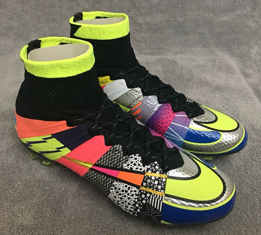 dfa72d8666df Nike Mercurial Superfly SE sz 9.5 (ref  What The Vapor Flyknit Ultra CR7 XI  X V)