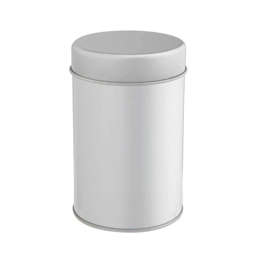 Tea Tin Canister with Airtight Double Lids for Loose Tea - Small ...