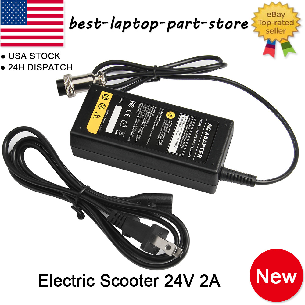 24v 2a Electric Scooter Battery Charger Power For Razor