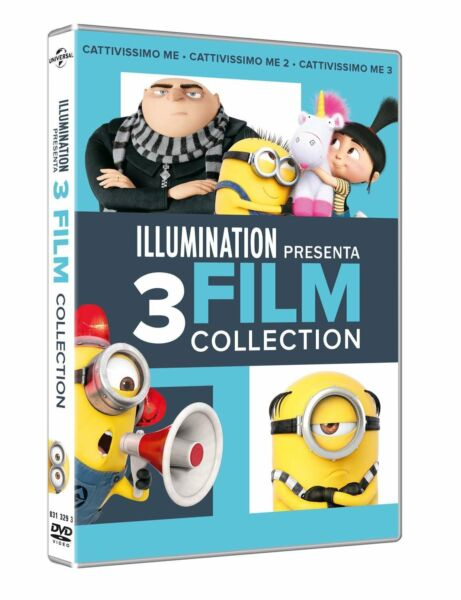 Dvd Cattivissimo Me 1-2-3 Movies Collection (3 Dvd) ......NUOVO