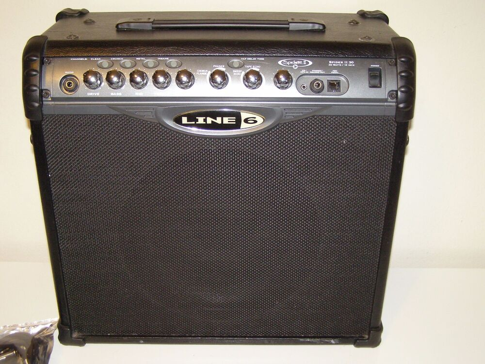 line 6 spider ii 30 watt guitar amp combo 2 channel electric guitar amplifier ebay. Black Bedroom Furniture Sets. Home Design Ideas