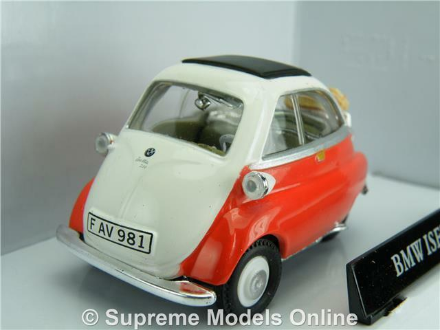 Bmw Isetta 250 Bubble Car Model 1 43 Scale Red Colour Example T3412z 3530062301724 Ebay