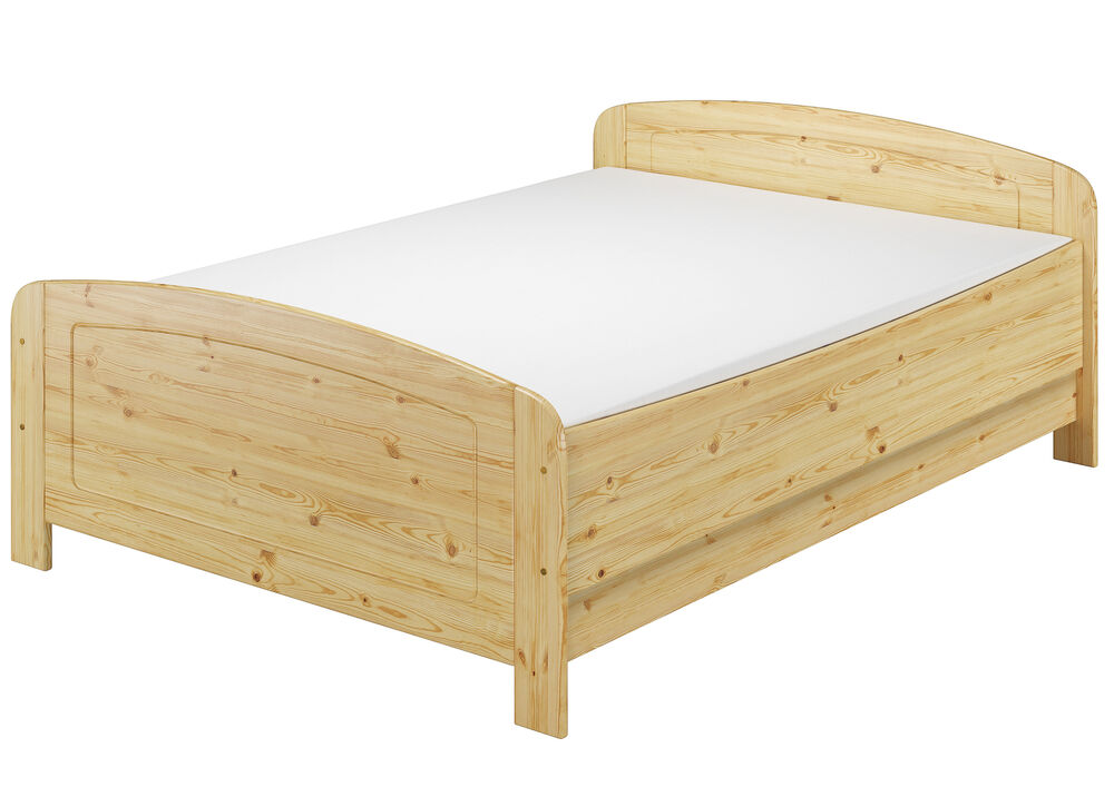 seniorenbett extra hoch 140x200 doppelbett holzbett kiefer bett fv m 4250639521209 ebay. Black Bedroom Furniture Sets. Home Design Ideas