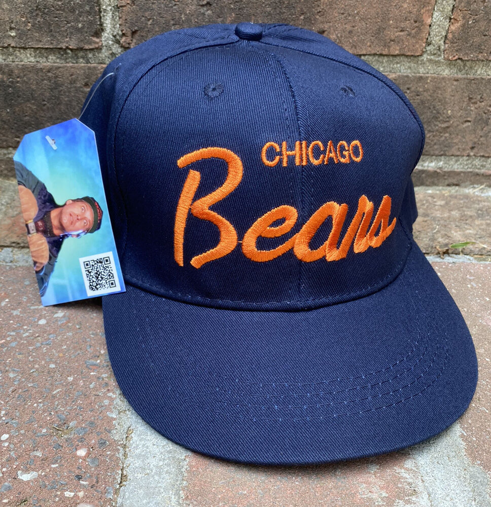 size 40 85955 13946 Vintage Chicago Bears SnapBack Hat Cap 90s Christmas Vacation Clark  Griswold   eBay