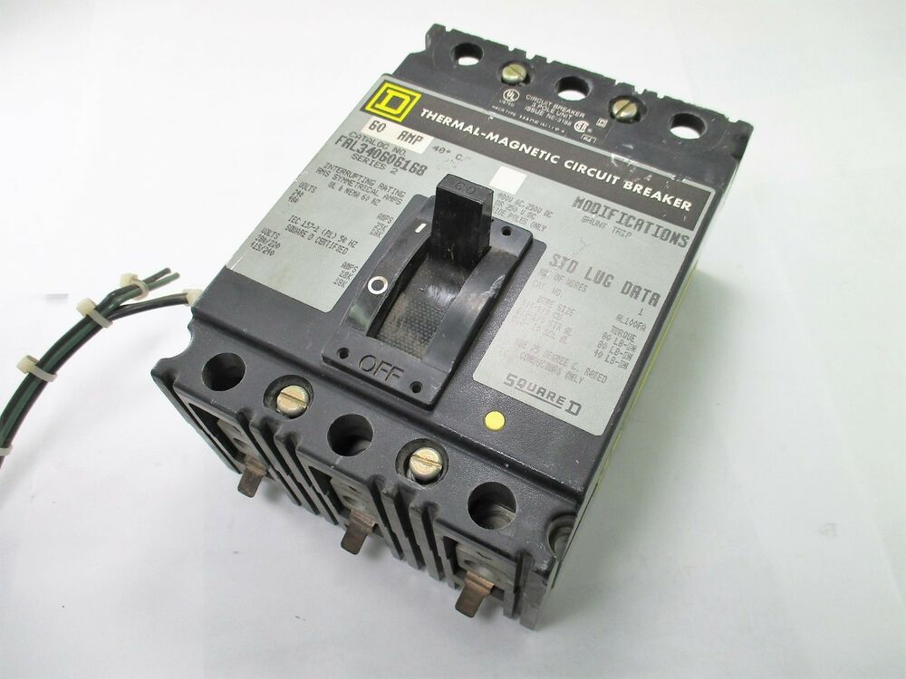 Qty 1 Square D EGB34015 Circuit Breaker
