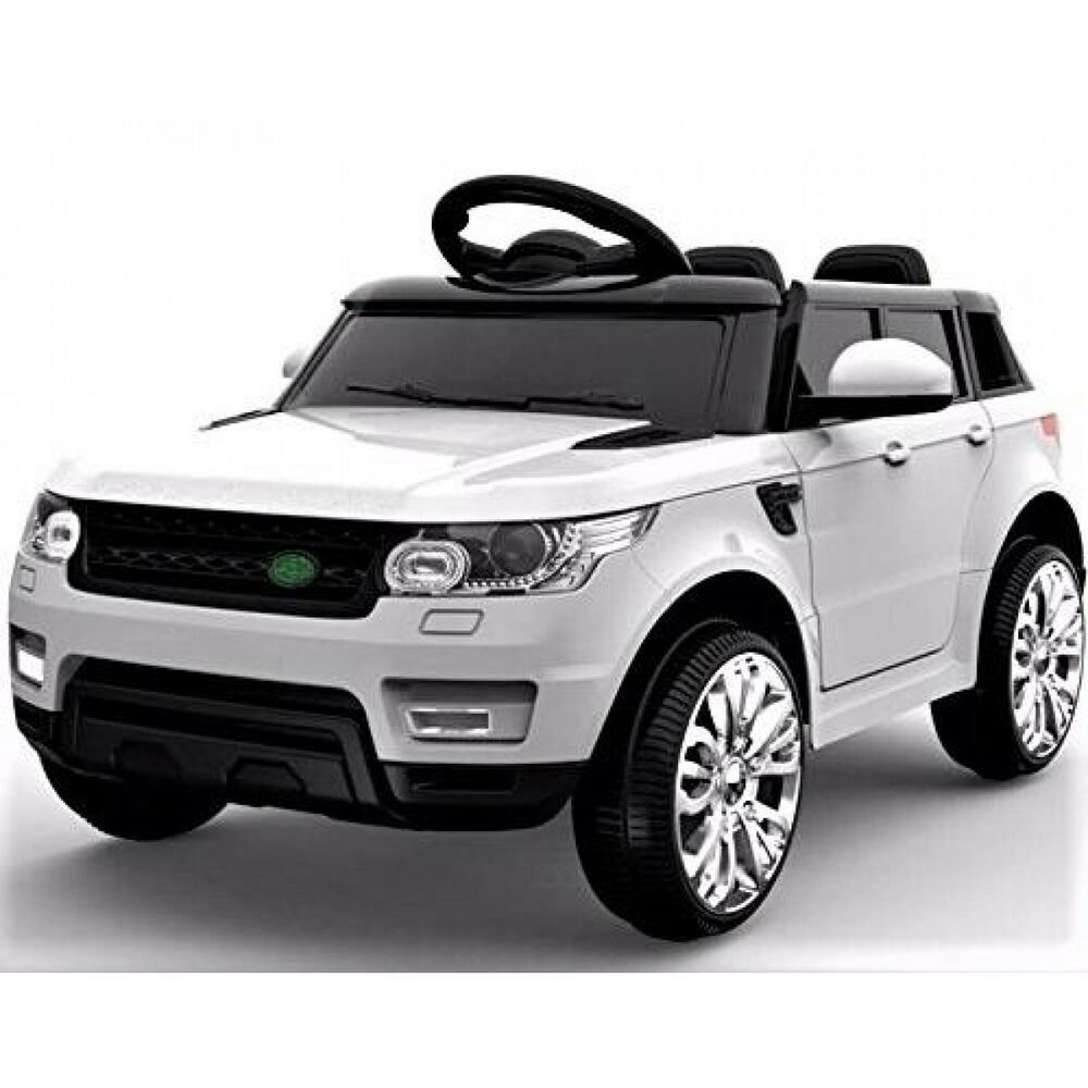 2018 white range rover sport hse style 12v electric kids. Black Bedroom Furniture Sets. Home Design Ideas