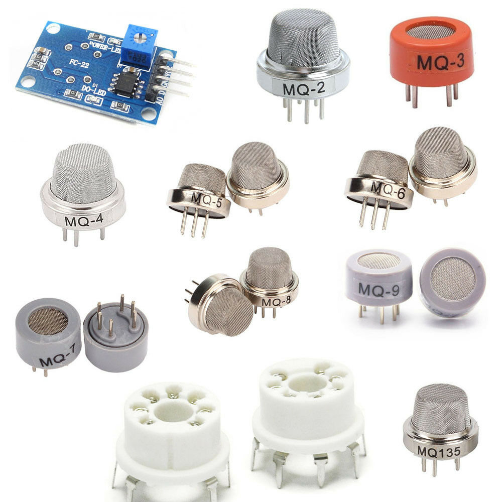 Mq2 3 4 5 6 7 8 9 Mq135 Gas Propan Methan Butan Sensor Base New Ebay Smoke Circuit Built With An Arduino