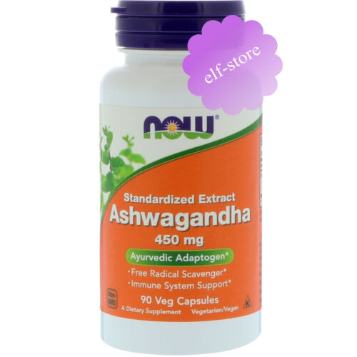 Now Foods, Ashwagandha, 450 mg