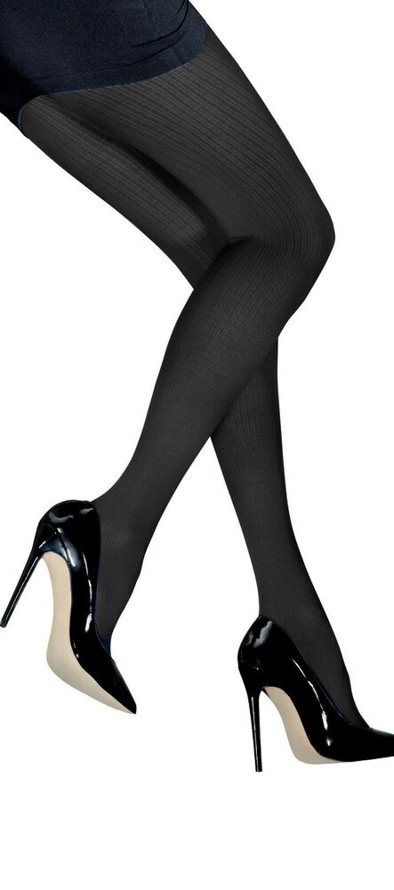 b08d29294cc Ladies Thick Opaque Ribbed Tights