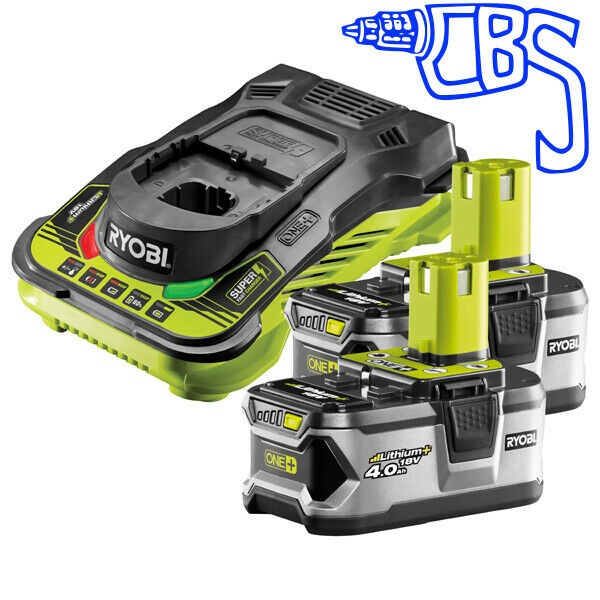 Batteries & Chargers Ryobi One Plus 18v Battery Charger One