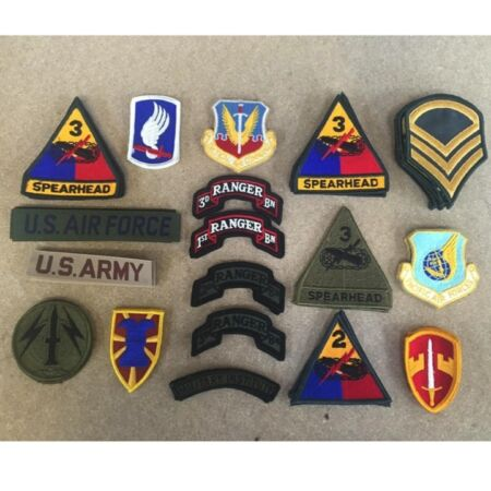 img-BRAND NEW US ARMY CLOTH BADGE USA AIRFORCE AMERICAN MILITARY COLLECTABLES