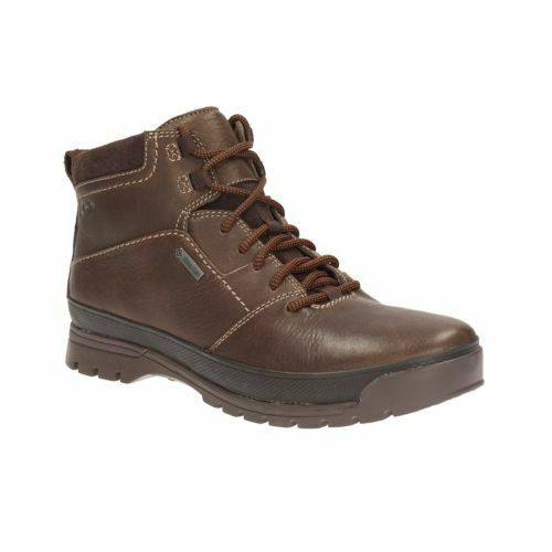 Clarks Men NARLY TRAIL GTX Brown WarmLining ACTIVE AIR UK 8 / US 9 G | eBay