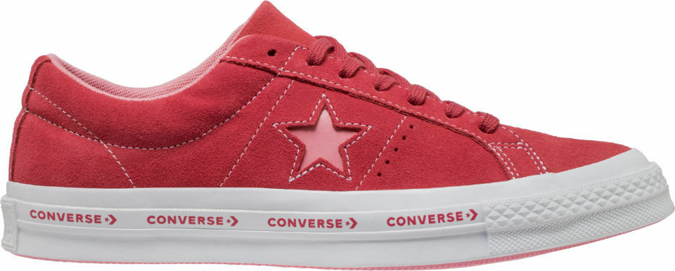 7631517cc1e Details about Converse One Star Woodmark FX Pinstripe Paradise Pink White  Geranium 159815C OG