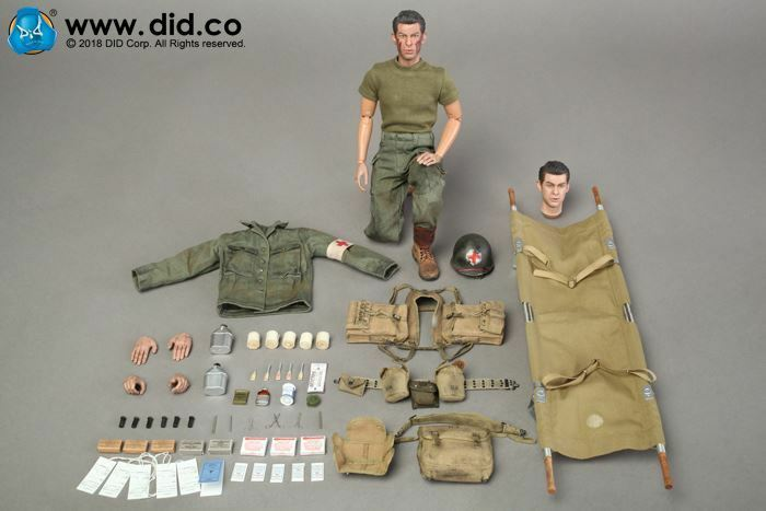 1 6 Did A80126 Wwii Us 77th Infantry Division Combat Medic