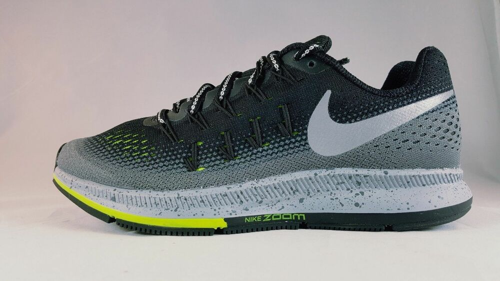fa11b89104a1 Details about Nike Air Zoom Pegasus 33 Shield Women s Athletic Shoe 849567  001 Size 5