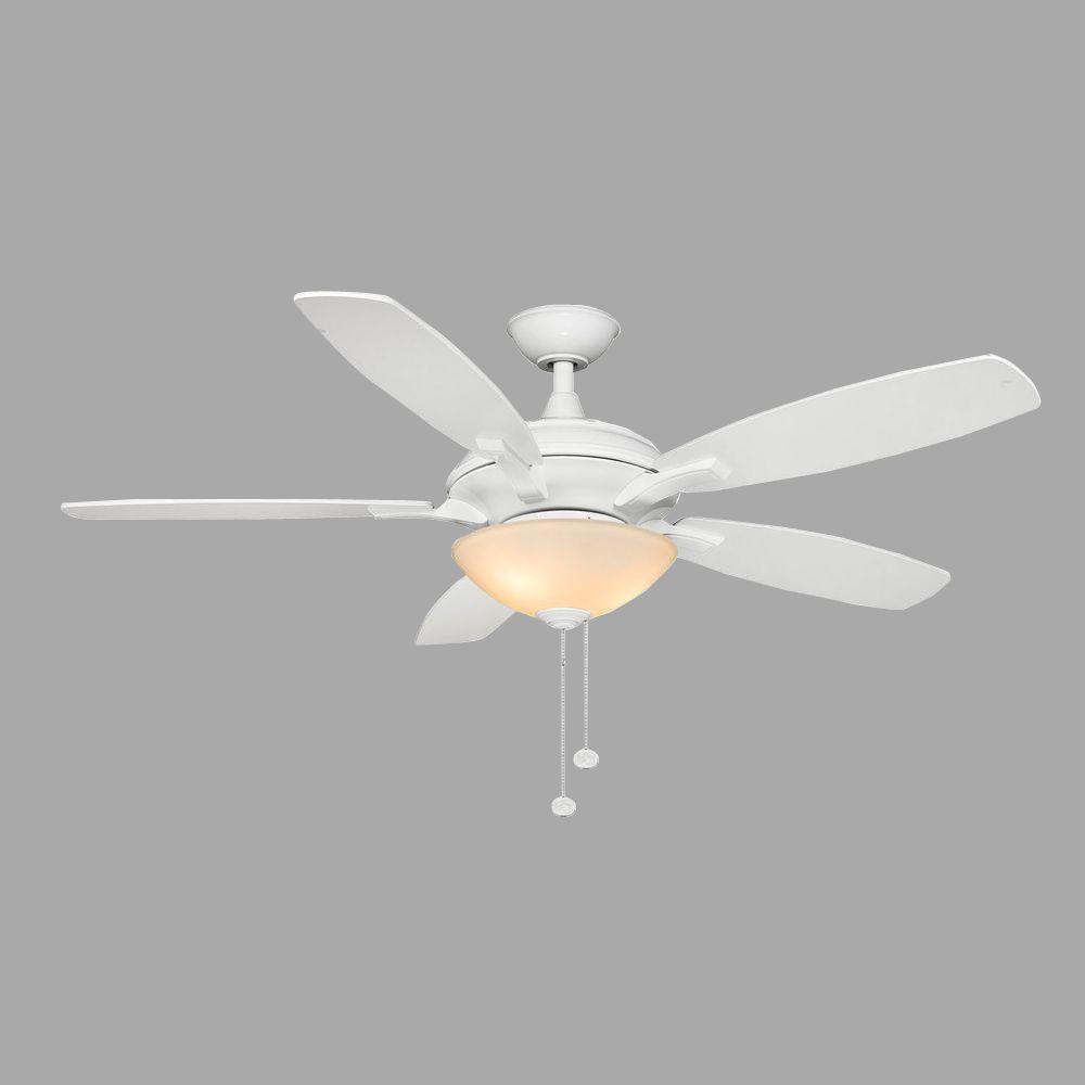 "Hampton Bay Ceiling Fan Replacement Parts: Hampton Bay Springview 52"" White Ceiling Fan Replacement"