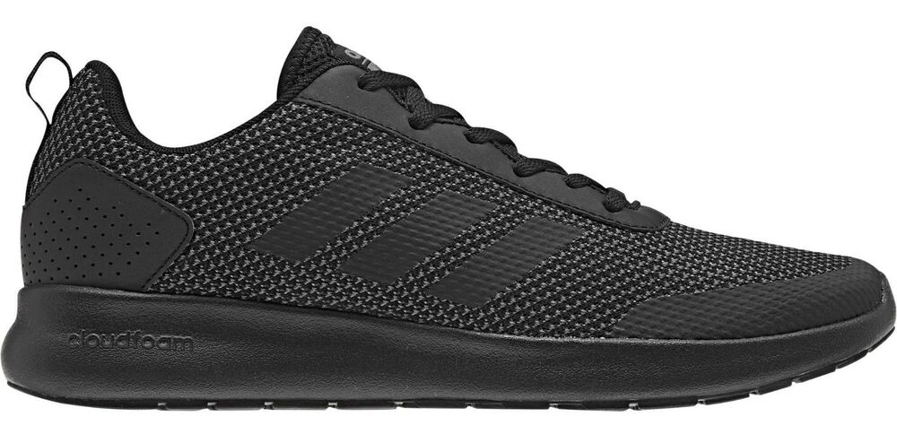 meet f74b1 6db1c Details about Adidas Men Shoes Running Cloudfoam Element Race Training Black  Trainers DB1455