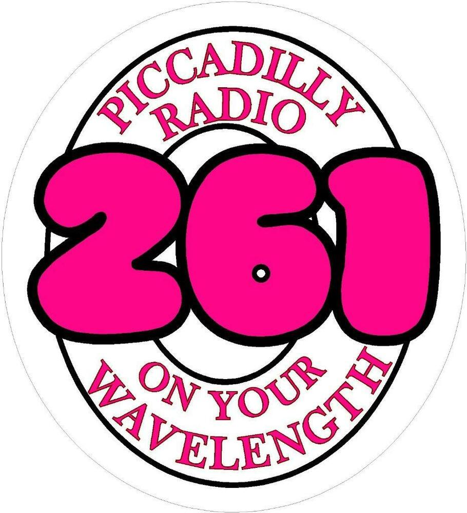 Details about 261 piccadilly radio station retro vw car van old school sticker transfer
